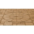 Small york round paving (brown)