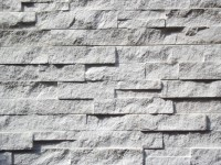 Split Faced Wall Panel - White