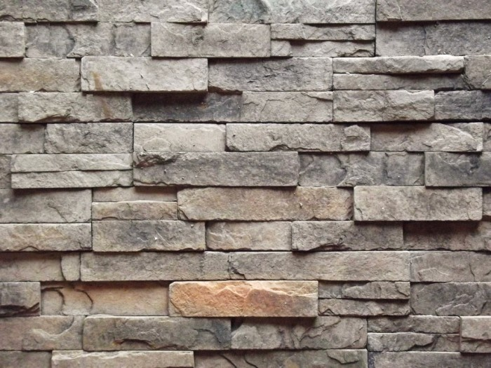 Slate wall panel Manufactured Cultured Stone and Pavers.