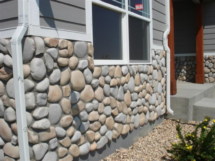 River rock stone veneers thin brick our products for River rock wall